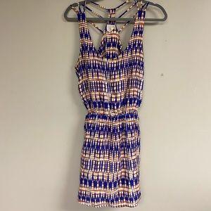 Parker Silk Lines Dress